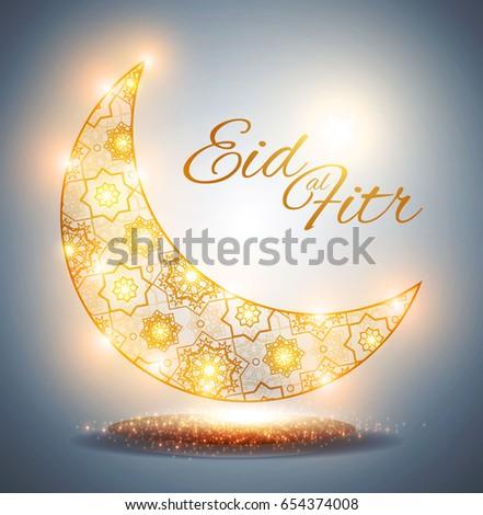 Fantastic Eid Mubarak Eid Al-Fitr Feast - stock-vector-eid-al-fitr-islamic-holiday-muslim-feast-eid-mubarak-ramadan-kareem-eid-said-gold-crescent-654374008  Pic_32525 .jpg