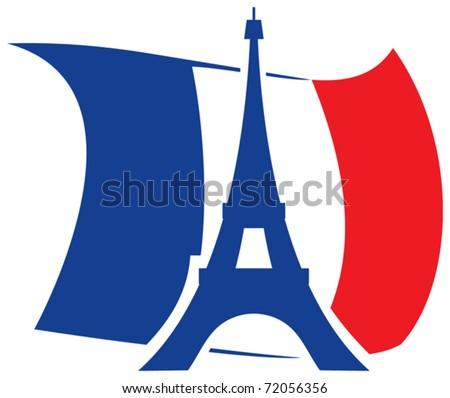 Eiffel Tower design - stock vector