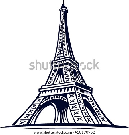 eiffel tower, symbol of Paris, France