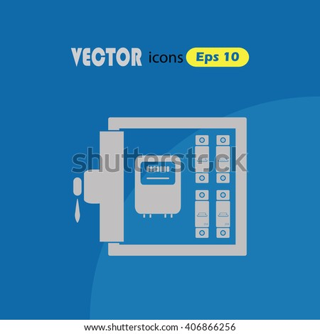 Electric Distribution Box Vector Icon Vector 403399861 – Icons Fuse Box
