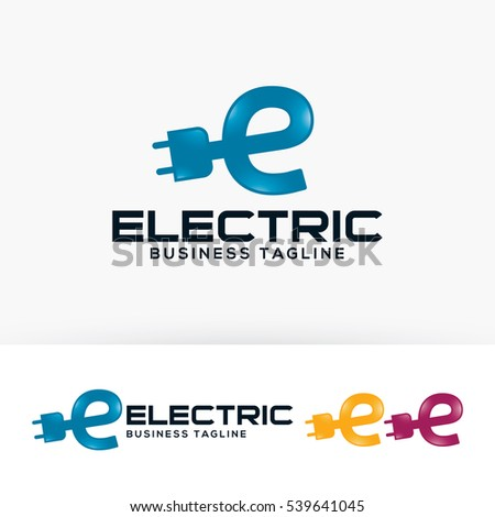 Electric energy letter e power vector stock vector 539641045 electric energy letter e power vector logo template colourmoves