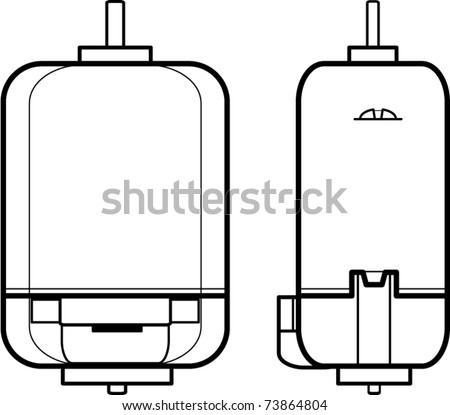 Photo Eye Electrical Symbol