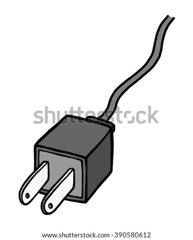 Stock Images Similar To Id 140972194 Plugs Drawing On