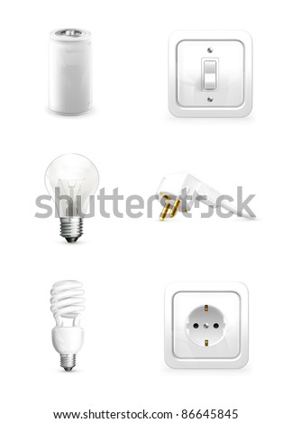 Electrical appliance, 10eps - stock vector