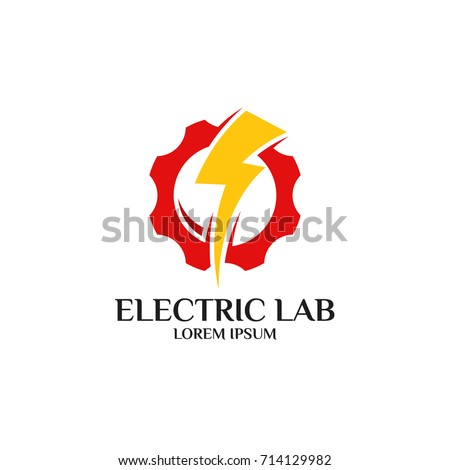 Electrical logo electrical mechanical business company stock photo electrical logo electrical and mechanical business company good for name card and branding vector colourmoves