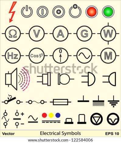 Electrical Symbols Stock Images, Royalty-Free Images & Vectors ...