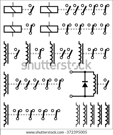 Led Electronic Symbols as well Schematic Symbol For Ic moreover Stock Vector Electrical Symbol Icon Set besides Iec Receptacle Wiring Diagram further Electrical Schematic Symbol Switch. on iec wiring diagram symbols