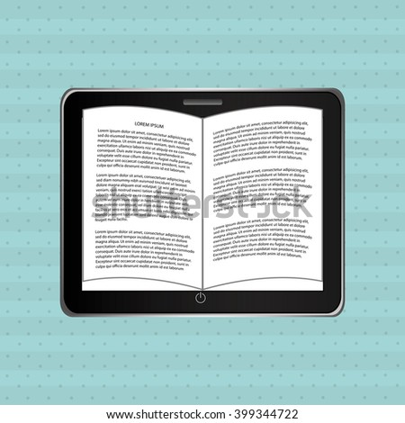 electronic book design