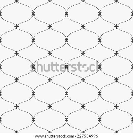 Elegance pattern, seamless vector background - stock vector