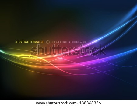 Elegant abstract background. Come with layers.