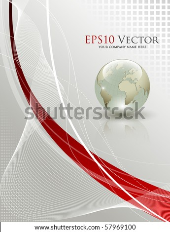 Elegant abstract background - vector illustration