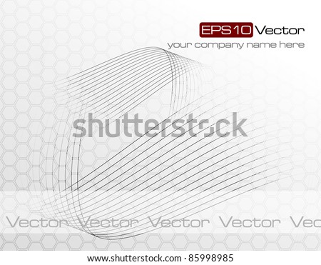 Elegant abstract background - vector illustration - stock vector