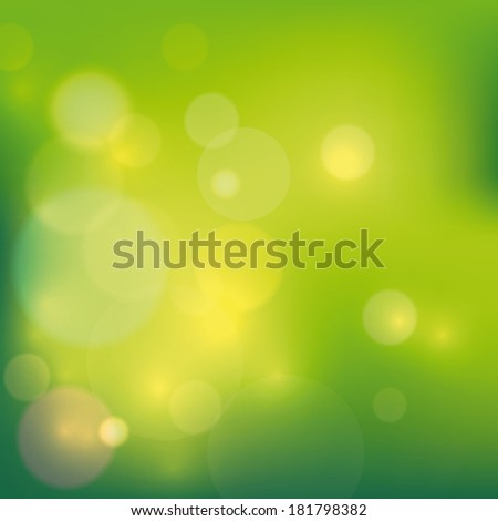 Elegant abstract background with bokeh lights.