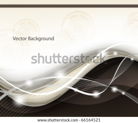 Elegant abstract design - stock vector