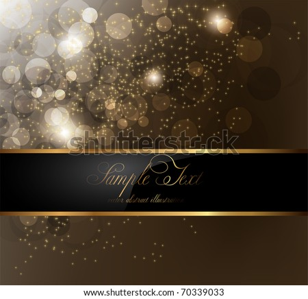 elegant background with place for text invitation - stock vector