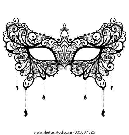 Masquerade on home design decoration