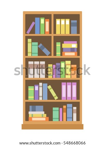 Bookcase Stock Images Royalty Free Images Vectors