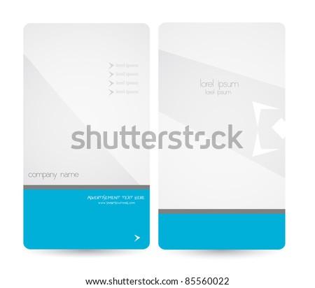 elegant business brochure - stock vector