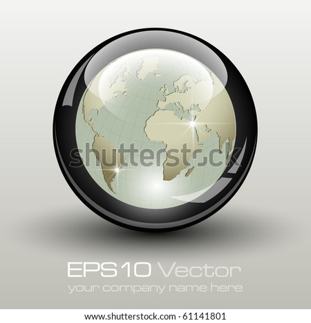 Elegant business element - vector illustration - stock vector