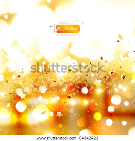 Elegant Christmas background. eps 10 vector - stock vector