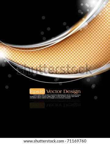 elegant design in eps10 vector format - stock vector