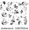 Elegant floral design - stock