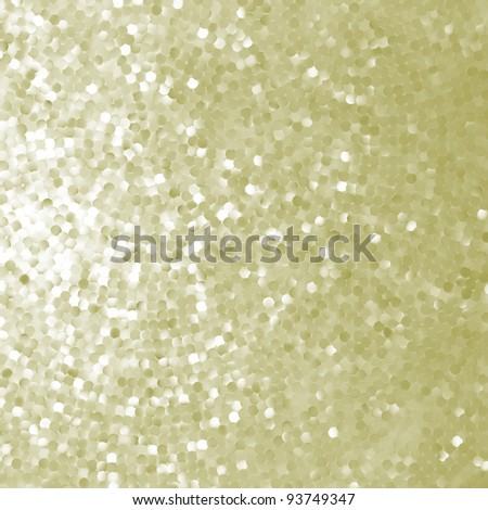 Elegant golden mosaic. EPS 8 vector file included - stock vector