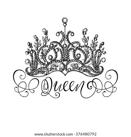 Queen Crown Stock Imag...