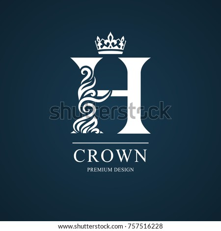 Elegant letter h graceful royal style stock vector royalty free elegant letter h graceful royal style stock vector royalty free 757516228 shutterstock altavistaventures Gallery