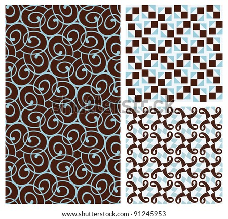 Elegant seamless pattern.This beautiful pattern can be used for wallpaper, pattern fills, web page background, surface textures. - stock vector