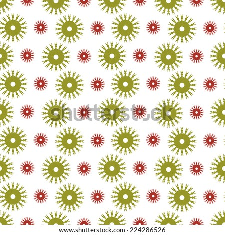 Elegant seamless pattern with hand drawn decorative snowflakes, design elements. Winter patterns for holiday invitations, greeting cards, scrapbooking, print, gift wrap, manufacturing. - stock vector