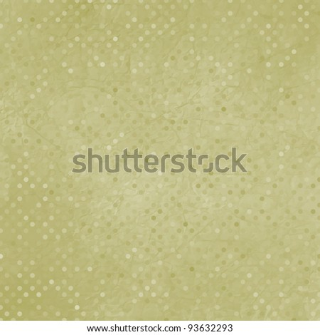 Elegant vintage polka dot texture. EPS 8 vector file included - stock vector