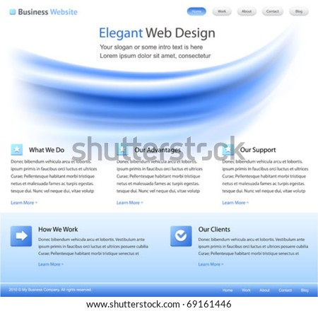 web site design templates
