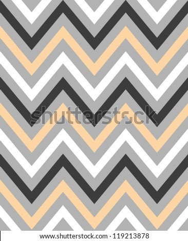 Elegant zigzag seamless pattern. Chevron pattern. Vector illustration