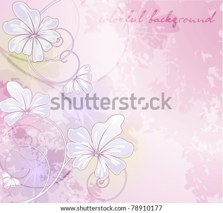Elegantly background with pastel colors, eps10 forma - stock vector