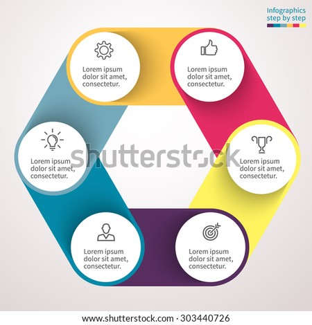 Infographic Element Chart Graph Diagram 3 Stock Vector 293321705