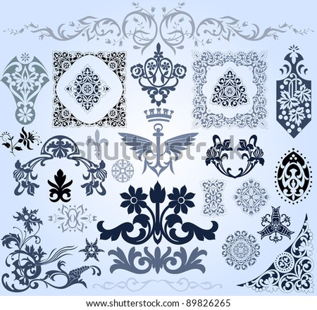 elements design - stock vector