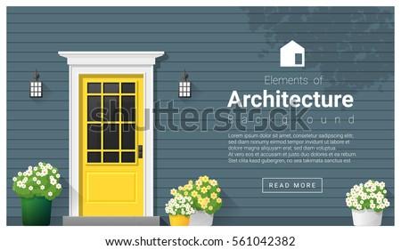 Front Door Architecture front door stock images, royalty-free images & vectors | shutterstock