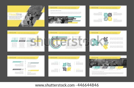 Elements of infographics for presentations templates. Leaflet, Annual report, book cover design. Brochure, layout, Flyer layout template design. Vector Illustration. - stock vector