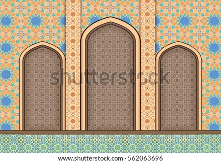Islamic Arch Stock Images Royalty Free Images Amp Vectors