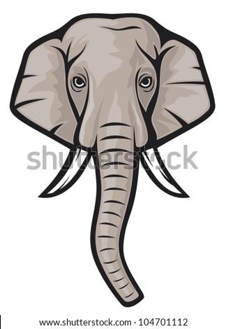 elephant head indian e...