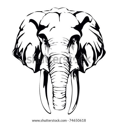 elephant, mammoth,