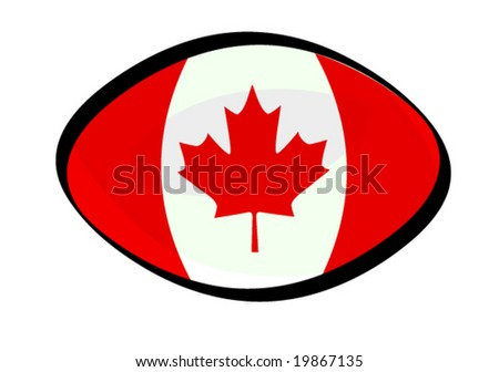 ellipse button flag of canada