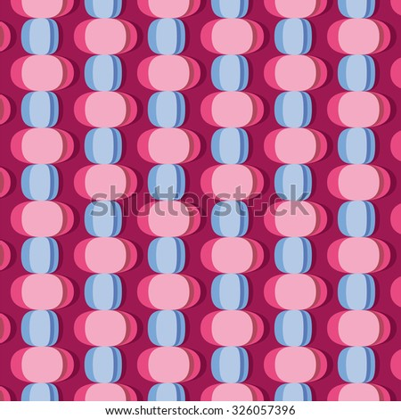 elliptical shapes background - stock vector