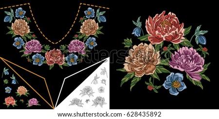 kurta neck design patterns