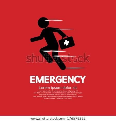 Emergency Concept Vector Illustration - stock vector