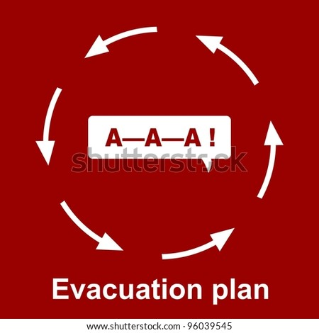 evacuation plan stock images royaltyfree images
