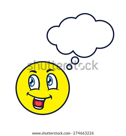 emoticon expression - stock vector