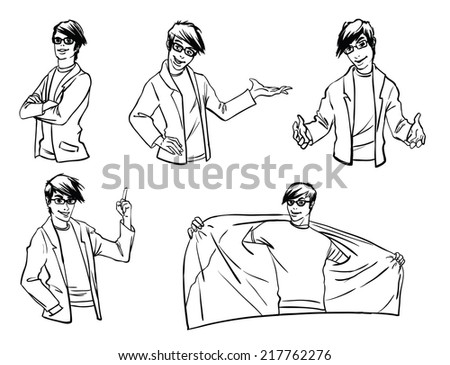 emotions - stock vector