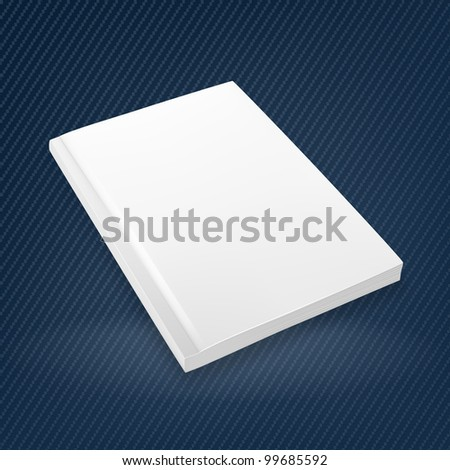 Empty Brochure, mesh - stock vector